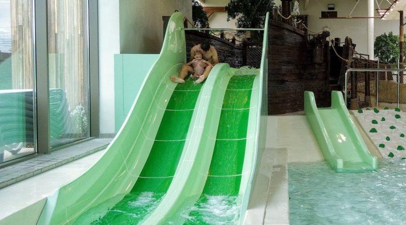 Bambini Beach Doppelrutsche :: Kinderrutsche | Bellewaerde Aquapark Ypern