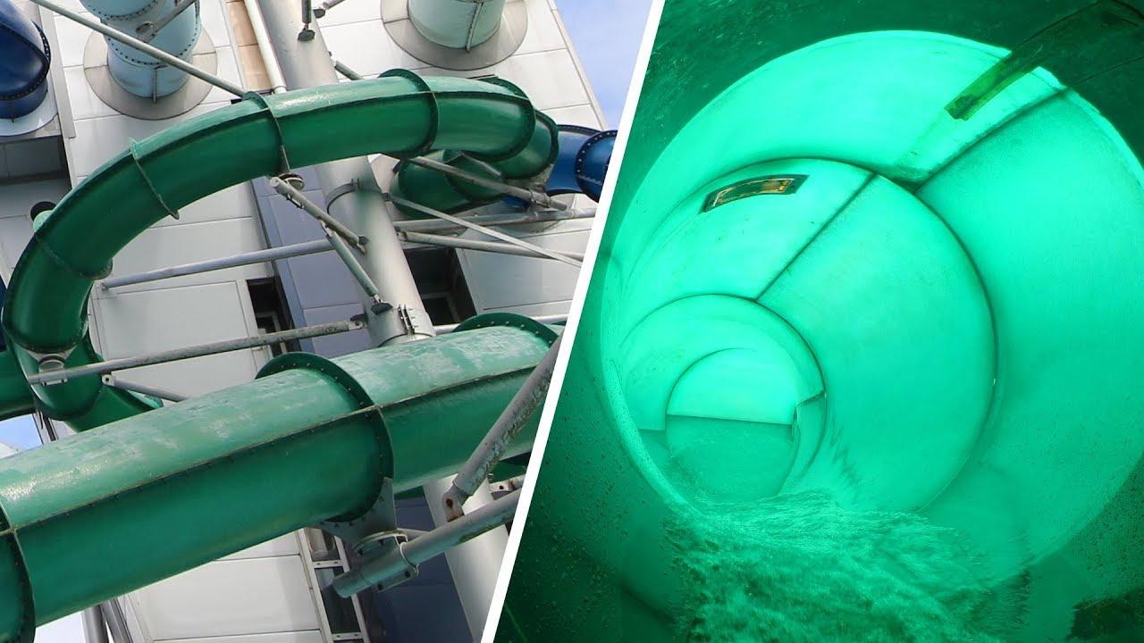 Blits :: green turbo slide | Tikibad Duinrell Wassenaar