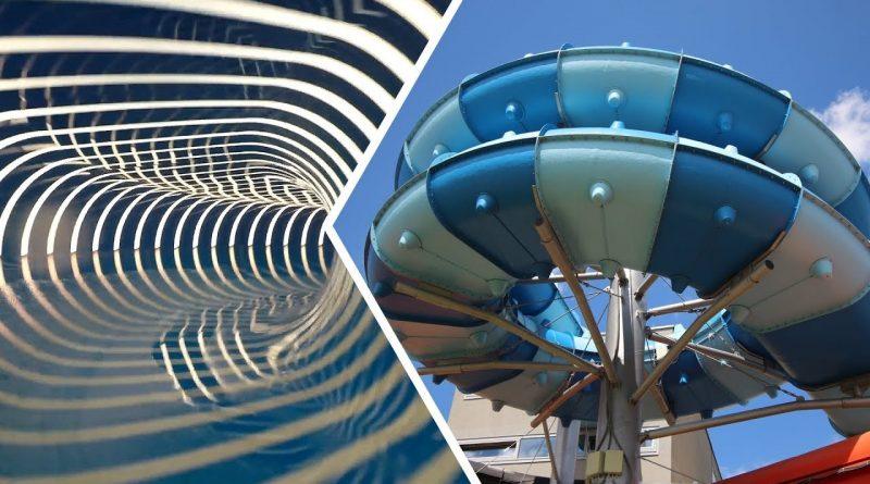 Blue Trio :: ovale Reifenrutsche | Aqualand Moravia Pasohlávky