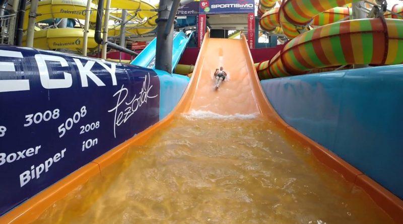 Breitrutsche :: Familienrutsche | Aquapalace Prag