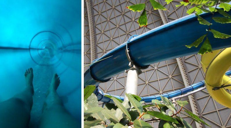 blaue Turborutsche :: höchste Wasserrutsche Deutschlands | Tropical Islands Krausnick