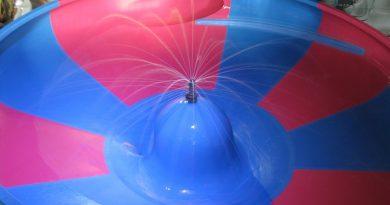 Space Bowl :: Trichterrutsche   Thermenwelt Erding / Galaxy Erding