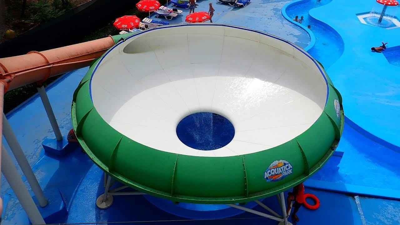 "Trichterrutsche ""Space Bowl"" :: Outdoor Bowl Slide | Acquatica Park Mailand"