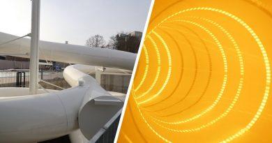 Black Hole Röhrenrutsche :: interaktive Rutsche | Nautiland Würzburg