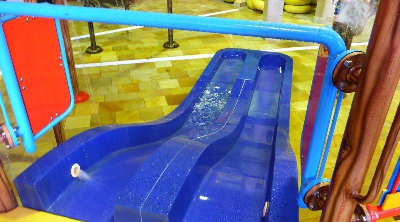 Kinder-Doppelrutsche :: zweibahnige Breitrutsche | Hotel Löwe Serfaus