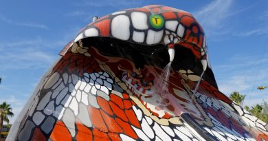 King Cobra :: Half-Pipe Reifenrutsche   Aqualand Fréjus