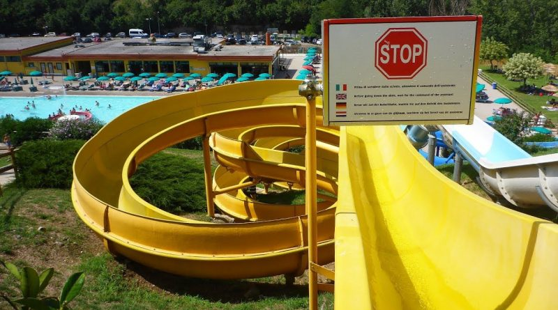 Scivolo Giallo :: gelbe Riesenrutsche | RioValli Cavaion Veronese
