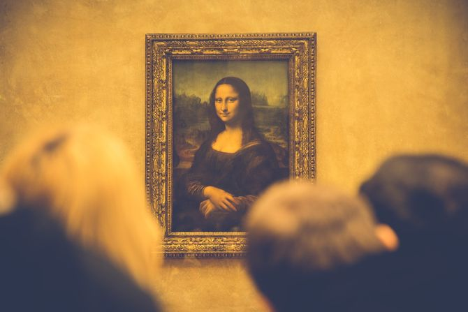 Die Mona Lise im Louvre - Bild: Unsplash.com