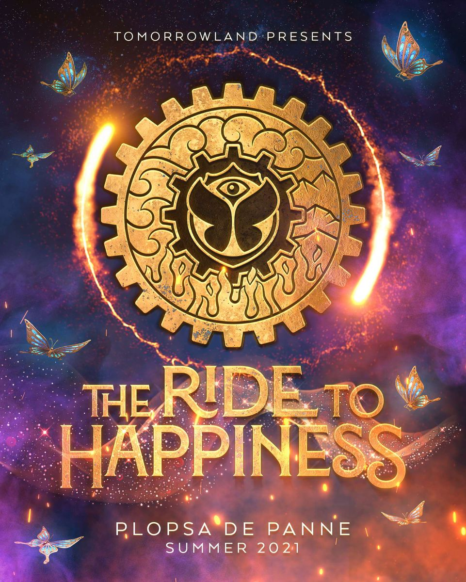 """The Ride to Happiness"" by Tomorrowland / (c) Plopsa Belgien / Plopsaland"